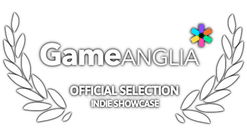 Award - Official Selection for Indie Showcase at Game Anglia 2018